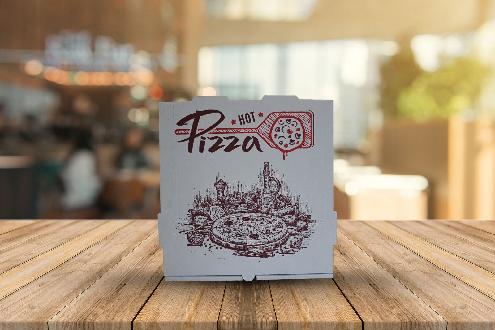 Pizza Boxes: 29*29*4