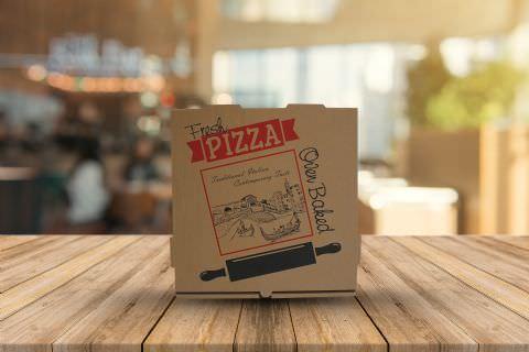 Pizza Boxes: 33*33*4