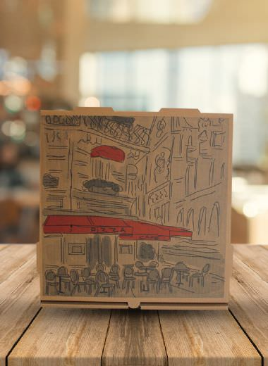 Pizza Boxes: 36*36*4