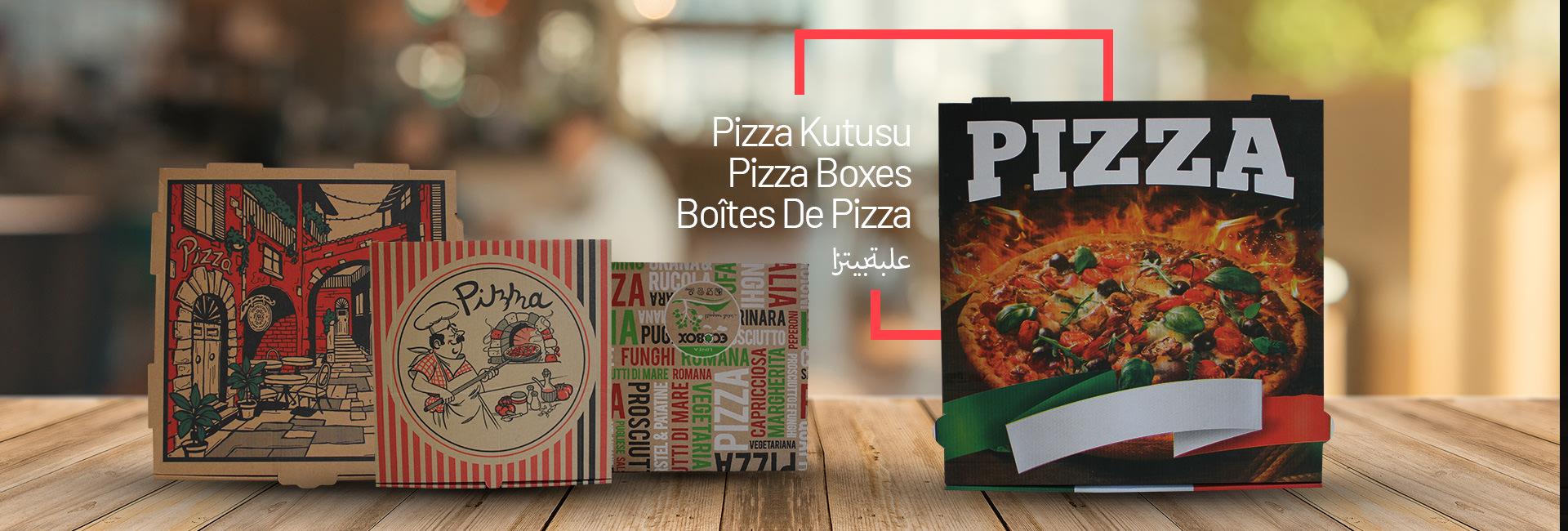 Fatmer Dış Ticaret: Kraft Kağıt Poşet, Pizza Kutusu İmalatı